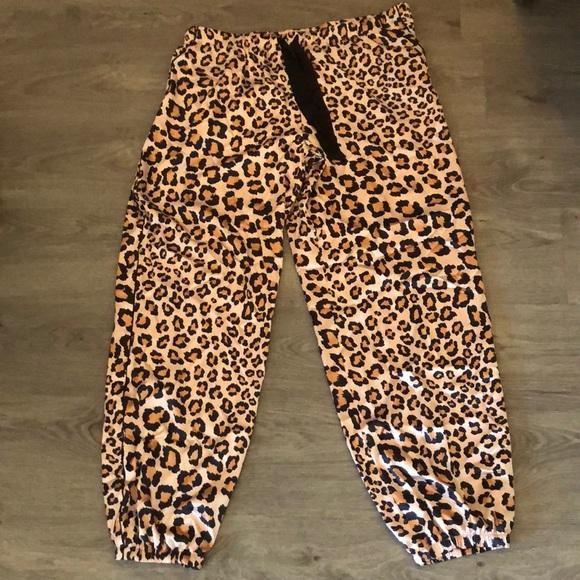 Victoria's Secret cheetah print pajama pants